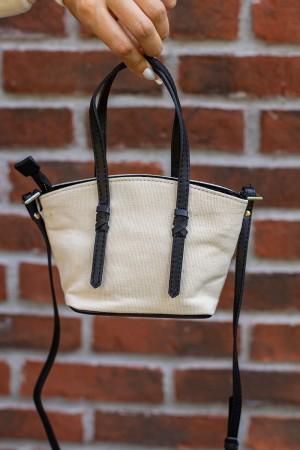 Ecru Small Hand Bag