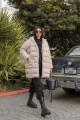 Beige Oversize Puffer Coat